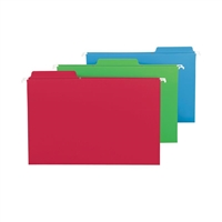 Smead FasTab Hanging Folders Legal Assorted Colors (64153)