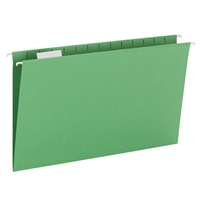 Smead Hanging File Folder with Tab, 1/5-Cut Tab, Legal (64161)