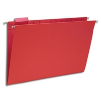 Smead Hanging File Folder with Tab, 1/5-Cut Tab, Legal (64167)
