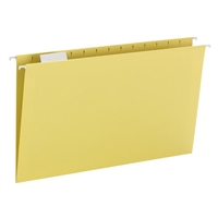 Smead Hanging File Folder with Tab, 1/5-Cut Tab, Legal (64169)