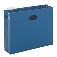 "Smead Hanging File Pocket with Tab, 3"" Expansion, 1/5-Cut Tab (64270)"