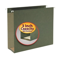 "Smead Hanging Box Bottom File Folder, 3"" Expansion, Letter Size (64279)"