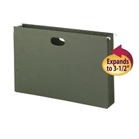 Smead Hanging File Pockets, 3-1/2 Inch Expansion, Legal Size (64320)