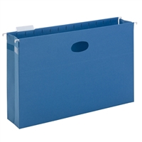 "Smead Hanging File Pocket with Tab, 3"" Expansion, 1/5-Cut (64370)"