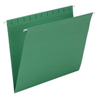 Smead Hanging Folders. Letter Size, Dark Green, 25/Bx (64428)