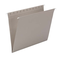 Smead Hanging Folders. Letter Size, Gray, 25/Bx (64431)