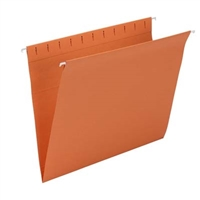Smead Hanging Folders, Letter Size, Orange, 25/Bx (64435)