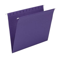 Smead Hanging Folders, Letter Size, Purple, 25/Bx (64436)