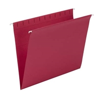 Smead Hanging Folders, Letter Size, Red, 25/Bx (64438)
