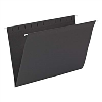 Smead Hanging File Folder, Legal Size, Black, 25/Bx (64477)