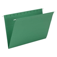 Smead Hanging File Folder, Legal Size, Dk Green, 25/Bx (64478)