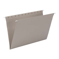 Smead Hanging File Folder, Legal Size, Gray, 25/Bx (64481)