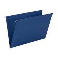 Smead Hanging File Folder, Legal Size, Navy, 25/Bx (64484)
