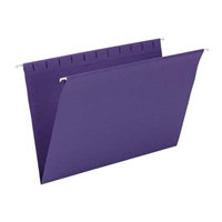 Smead Hanging File Folder, Legal Size, Purple, 25/Bx (64486)
