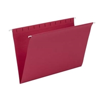 Smead Hanging File Folder, Legal Size, Red, 25/Bx (64488)