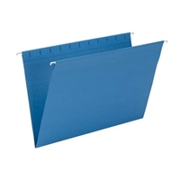 Smead Hanging File Folder, Legal Size, Sky Blue, 25/Bx (64489)