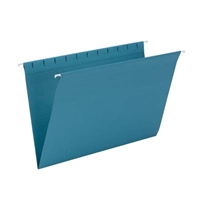 Smead Hanging File Folder, Legal Size, Teal, 25/Bx (64490)