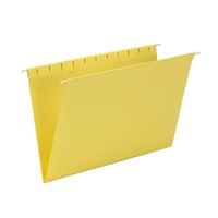 Smead Hanging File Folder, Legal Size, Yellow, 25/Bx (64491)