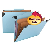 Smead FasTab Hanging Pressboard Classification Folder SafeSHIELD (65115)