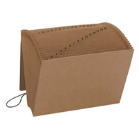 Smead Kraft Expanding Files with Flap and Elastic Cord (70168)