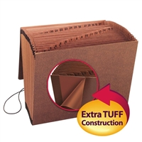 Smead TUFF Expanding File with Flap and Elastic Cord (70367)