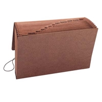 Smead TUFF Expanding Files with Flap and Cord Jan-Dec (70390)
