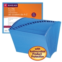 Smead A-Z Expanding File with Antimicrobial Product Protection (70727)