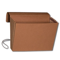 "Smead Wallet, 5-1/4"" Expansion, Flap and Cord Closure, 10/Box (71011)"