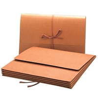 "Smead Wallet, 3-1/2"" Expansion, Flap/Cloth Tie Closure, 10/Box (71055)"