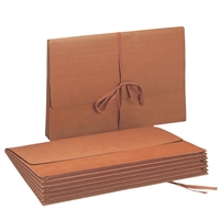 "Smead Wallet, 5-1/4"" Expansion, Flap with Cloth Tie, 10/Box (71076)"