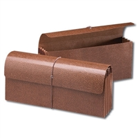 Smead Leather-Like Expanding Wallets with Elastic Box of 10 (71350)