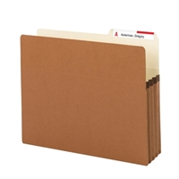 Smead File Pockets 2/5-Cut Tab Right Position Guide Height (73088)