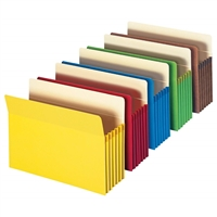 Smead Colored File Pockets 5/Pack (73836)