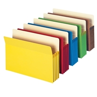 Smead Colored File Pockets 5/Pack (73892)