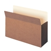 "Smead File Pocket Straight-Cut Tab 5-1/4"" Exp Legal Redrope (74274)"