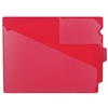 Poly Out Guides, Center Tab, Letter Size, Red, 10/Bx