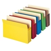 "Smead Colored File Pockets Straight-Cut Tab 3-1/2"" Exp Legal (74892)"