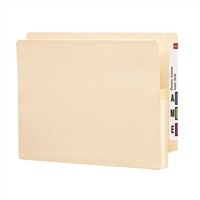 "Smead End Tab File Pocket Reinforced Straight-Cut Tab 1-3/4"" (75114)"