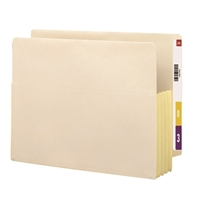 "Smead End Tab File Pocket Reinforced Straight-Cut Tab 3-1/2"" (75164)"