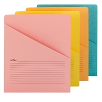 Smead Organized Up Notes Slash Jacket, Letter Size, 12/Pack (75427)