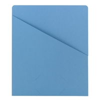 Smead Organized Up Slash Jackets Blue 25/Pack (75431)