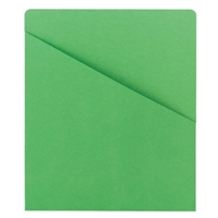Smead Organized Up Slash Jackets Green 25/Pack (75432)