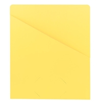 Smead Organized Up Slash Jackets Yellow 25/Pack (75434)