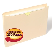 "Smead File Jacket, 1"" Expansion, Letter, Manila, 50 per Box (75439)"