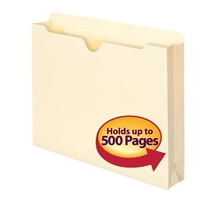 "Smead File Jacket, 2"" Expansion, Letter, Manila, 50 per Box (75470)"