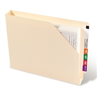 Smead End Tab File Jacket, Shelf-Master Straight-Cut Tab, 50/Bx (75740)