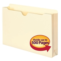 "Smead File Jacket, 2"" Expansion, Legal, Manila, 50 per Box (76470)"