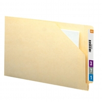 Smead End Tab File Jacket, Shelf-Master Straight-Cut Tab, 100/Bx (76700)