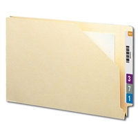 Smead End Tab File Jacket, Shelf-Master Straight-Cut Tab 50/Bx (76740)