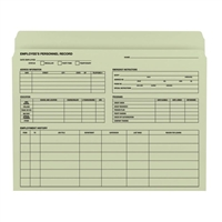 Smead Employee Record File Folder, Letter, Moss, 20/Pack (77000)